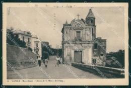 Napoli Città Marechiaro Chiesa Santa Maria Del Faro Cartolina MX4878 - Napoli