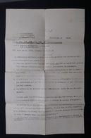 MILITARIA - Document De Bruxelles Pour Le Service Obligatoire En Allemagne En 1942 - L 28453 - 1939-45