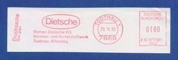 BRD AFS - TODTNAU, Roman Dietsche KG, Bürsten- Und Kunststoffwerk Todtnau-Aftersteg 1990 - Fabriken Und Industrien