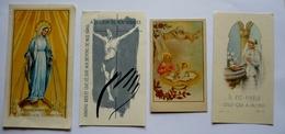 Lot De 3 Images Religieuses  + 1 Bon-poInt JESUS Pub SALVY - Devotion Images