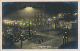 R011902 Berlin Bei Nacht. Potsdemer Platz Mit Palast Hotel. Amag. 1928 - Postcards