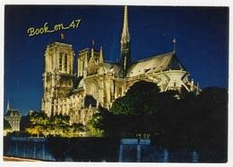 {80707} 75 Paris Notre Dame Illuminée - Notre Dame De Paris