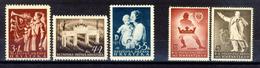 1942 - Croazia Indipendente - Soccorso Nazionale E Pro Gioventù Ustascia - Nuovi MLH* - Croazia