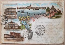 Germany Ribnitz 1897 Gruss Aus Ribnits Dirt - Non Classificati