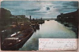 Germany Ruhrort Eisenbahn Bassin 1903 Landeck - Non Classificati