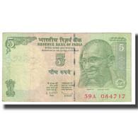 Billet, Inde, 5 Rupees, KM:88Aa, TTB - Inde