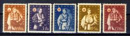 1942 - Croazia Indipendente - Pro Croce Rossa - Nuovi MNH** - Croazia