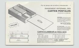 CAT LES ATELIERS DE BOIS L ABBESSE SAINT DIZIER 84 / 2000 EXEMPLAIRES - Publicité