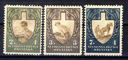 1943 - Croazia Indipendente - Fronte Del Lavoro - Nuovi MNH** - Croazia