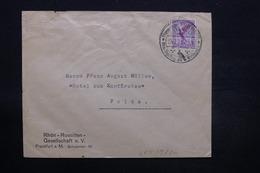 ALLEMAGNE - Enveloppe De Franfurt Pour Fulda En 1929 , Affranchissement Plaisant - L 28460 - Storia Postale