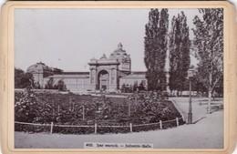 PHOTO ,,,    1899,,,,, HONGRIE ,,,IPAR   CSARNOK   ,,,,INDUSTRIE  - HALLE ,,,,stengel & Co   DRESDEN,,,TBE - Lugares