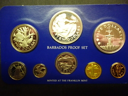 BARBADOS 1978 PROOF SET     NIEUW - NEUF - NEW ------------D1 X 2 - Barbados (Barbuda)