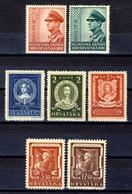 1943 - Croazia Indipendente - Lotto Di 3 Emissioni - Nuovi MNH** - Croazia