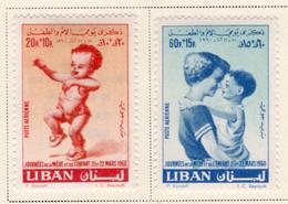 1960 - LIBANO - LEBANON - Mi. Nr.  684+686 - LH - (S03052019.....) - Libano