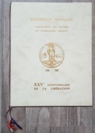 FDC / CM 1969 Sur Document - YT N°1606 - NORMANDIE NIEMEN - 1960-1969