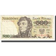 Billet, Pologne, 500 Zlotych, 1982, 1982-06-01, KM:145b, TB - Pologne