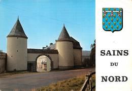 Sains Du Nord Canton Avesnes Entrée Château - France