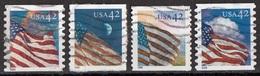 Stati Uniti 2008 Sc. 3478... Flag Dusk Night Dawn Midday Tipo Scott A3214... Viaggiati Used USA  United States - Francobolli