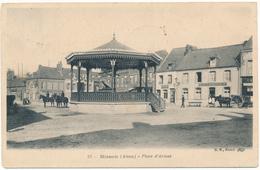 D02 - HIRSON - Place D'Armes, Kiosque - Hirson