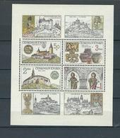 CHECOSLOVAQUIA 1982, Castles S/s MNH - Checoslovaquia