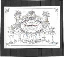 Gent  *  (Carte Porcelaine)  L. Luycks-Houdet - Rue De Soleil, 2 (Magasin De Porcelaines, Cristaux ...) - Cartes Porcelaine