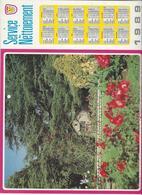 CALENDRIER  SERVICE DU NETTOIEMENT  DES EBOUEURS    ANNEE 1987  PAYSAGE    ****   A  SAISIR  *** - Big : 1981-90