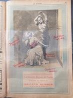 1912 BALLETS RUSSES.- THÉÂTRE DU CHATELET - Mlle KARSAVINA ET M. NIJINSKY - PUBLICITÉ - Vieux Papiers