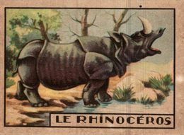 CHROMO  LE RHINOCEROS - Trade Cards