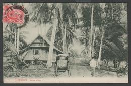 061 CARTE POSTALE - SINGAPOUR - Native Village - Singapour