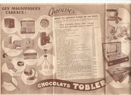 Publicité    Chocolat  Tobler - Reclame