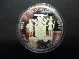 JAMAICA 25 DOLLARS PROOF KM.73  NIEUW - NEUF - NEW ------------D1 X 2 - Jamaique