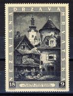 1943 - Croazia Indipendente - Esposizione Filatelica Di Zagabria - Nuovo MNH** - Croazia