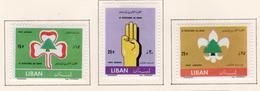 1962 - LIBANO - LEBANON - Mi. Nr.  768/770 - LH - (S03052019.....) - Liban