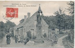 D02 - SAINT GOBAIN - Statue De St Gobain - France