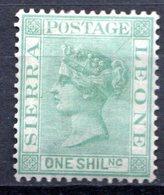 SIERRA LEONE - (Colonie Britannique) - 1876-96 - N° 17 - 1 S. Vert - (Victoria) - Sierra Leone (...-1960)