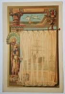 """MENU - MESSAGERIE MARITIME - PAQUEBOT """"MELBOURNE"""" - 1er CLASSE - VERS L'ASIE - EGYPTISANT - 1902 - Menus"""