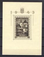1943 - Croazia Indipendente - Esposizione Filatelica Di Zagabria Foglietto - Nuovo MNH** - Croazia