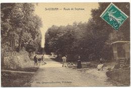 D02 - SAINT GOBAIN - Route De Septvaux, Roulotte - France