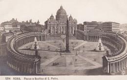 Roma Piazza E Basilica Di S Pietro - Italia