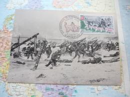 XXX-e Anniversaire Du Débarquement En Normandie 8/06/1974 Arromanches - FDC
