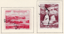 1962 - LIBANO - LEBANON - Mi. Nr.  761/62 - USED - (S03052019.....) - Libanon