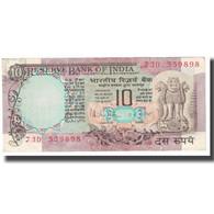 Billet, Inde, 10 Rupees, KM:81g, TTB - Inde