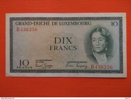 Luxembourg , 10 Francs 1954 , Tb+  , Série B - Luxembourg