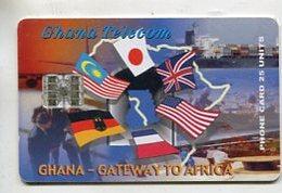 TK 05697 GHANA - Chip 05/00 - Ghana