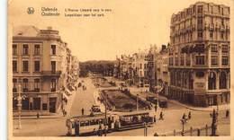 Oostende  Ostende  België Verzameling Van 72 Verschillende Prachtige Kaarten Van Hotel Tot Villa. Oude Kaarten! Lot 3 - Cartes Postales