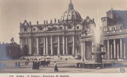 Roma S Pietro Fontana Di Destra - Italia