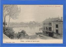 78 YVELINES - CHATOU La Seine Du Haut Du Pont (voir Descriptif) - Chatou