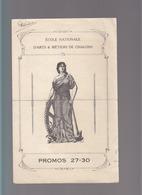 Ecole Des Arts Et Métiers De Chalons Sur Marne / Promos 27-30 / Liste Noms Et Adresses élèves - Vieux Papiers