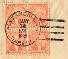 USA, 1932,        To   Zürich, Switzerland - Etats-Unis