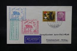 ALLEMAGNE - Enveloppe De Hannover Pour Freudenstadt En 1961 Par Avion , Oblitération, Vignette à Voir - L 28474 - Briefe U. Dokumente